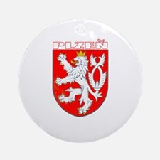 Plzen, Czech Republic Ornament (Round)