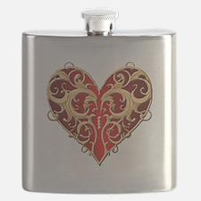 Valentine Heart Flask