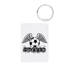 Soccer Wings Keychains