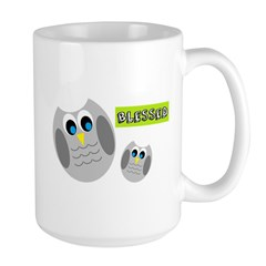 Blessed with cute owls Mugs