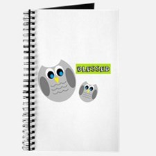 Blessed with cute owls Journal