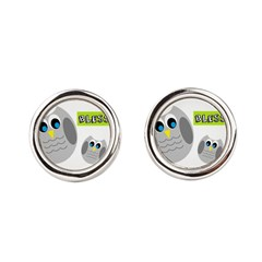 Blessed with cute owls Cufflinks