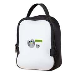 Blessed with cute owls Neoprene Lunch Bag