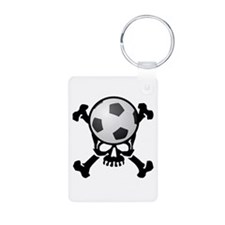 Soccer Skull Keychains