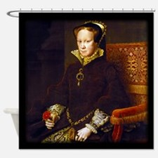 Queen Mary I. Shower Curtain