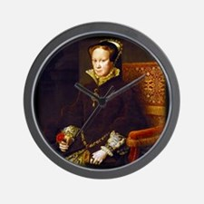 Queen Mary I. Wall Clock