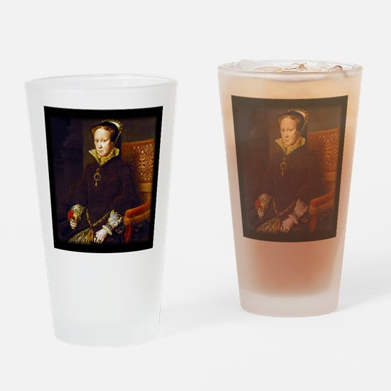Queen Mary I. Drinking Glass