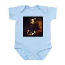 Queen Mary I. Infant Bodysuit