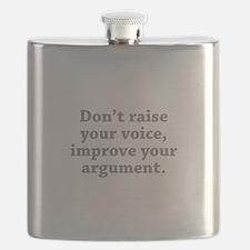 Don't Raise Your Voice, Improve Your Argument Flas