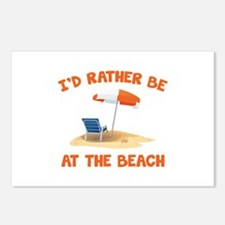 I'd Rather Be At The Beach Postcards (Package of 8