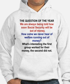 THE QUESTION OF THE YEAR Hoodie