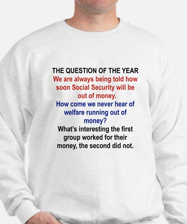 THE QUESTION OF THE YEAR Jumper