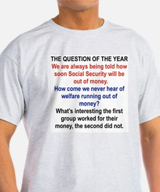 THE QUESTION OF THE YEAR T-Shirt