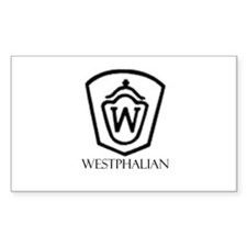 Westphalian Rectangle Decal