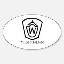 Westphalian Oval Decal