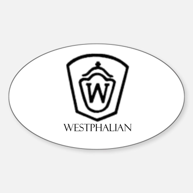 Westphalian Oval Decal