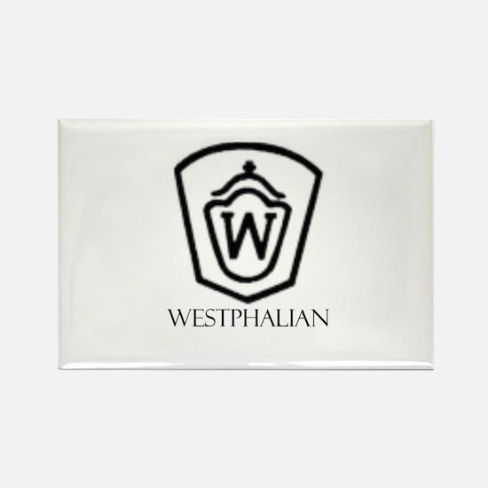 Westphalian Rectangle Magnet