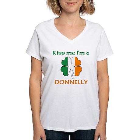 Donnelly Family Women's V-Neck T-Shirt
