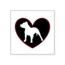 Pitbull Love Sticker