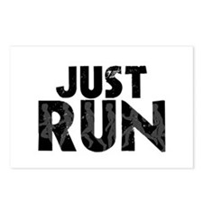 Just Run Postcards (Package of 8)