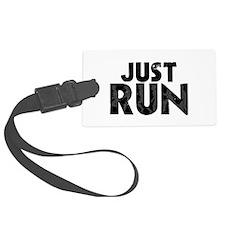 Just Run Luggage Tag