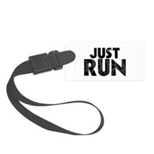 Just Run Luggage Tag