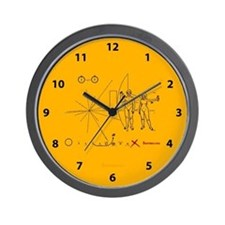 Pioneer Plaque V3 Wall Clock