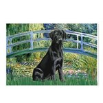 Bridge & Black Lab Postcards (Package of 8)
