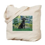 Bridge & Black Lab Tote Bag