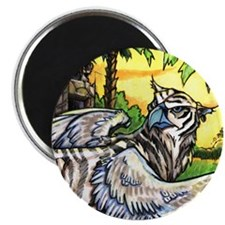 Tiger Griffen Furry Magnet