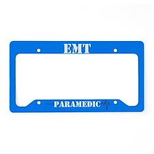EMT Paramedic License Plate Holder