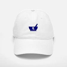 Mortar and Pestle Rx Baseball Baseball Baseball Cap