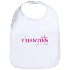 A Coastie's Princess Bib