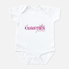 A Coastie's Princess Infant Bodysuit