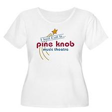pineknobw Plus Size T-Shirt