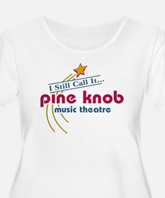 pineknobw Plus Size T-Shirt