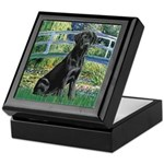 Bridge & Black Lab Keepsake Box
