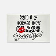Kiss My Class Goodbye 2017 Rectangle Magnet