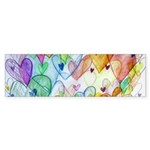 Community Hearts Color Sticker (Bumper)