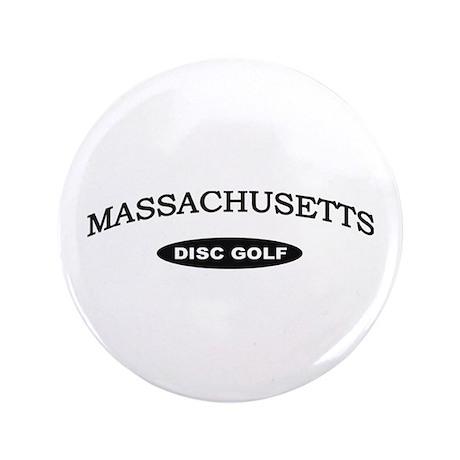 """Massachusetts Disc Golf 3.5"""" Button"""