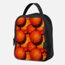 Basketball Pattern 2 Neoprene Lunch Bag