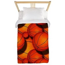 Basketball Pattern 2 Twin Duvet