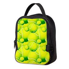 Tennis Ball Pattern 2 Neoprene Lunch Bag