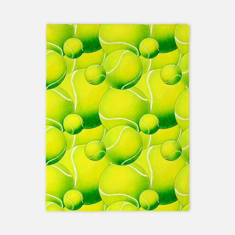 Tennis Ball Pattern 2 Twin Duvet. Cool Tennis Bedding   Cool Tennis Duvet Covers  Pillow Cases   More