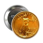 Gold Liberty on Button