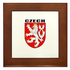 Czech Coat of Arms Framed Tile