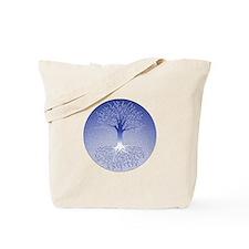 Winter Solstice Blue Tote Bag