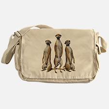 Meerkat Trio Messenger Bag