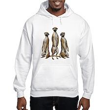 Meerkat Trio Hoodie