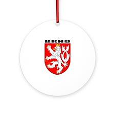Brno, Czech Republic Ornament (Round)